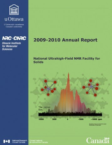 2009-2010 Annual Report - National Ultrahigh-Field NMR Facility for ...
