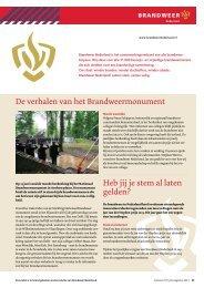 Katern juli/augustus 2013 (PDF, 835 kB) - Brandweer Nederland