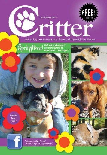 Animal Rescue Pickens County - Critter Magazine