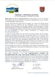 Fragebogen - Institutionen und Vereine der ... - Heide