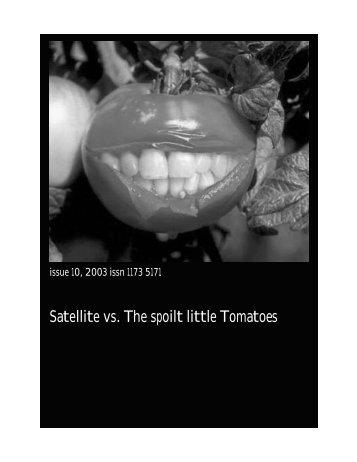issue 9.indd - Satellite Magazine