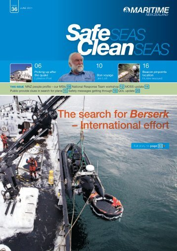 Safe Seas Clean Seas June 2011 - Issue 36 | Publications ...