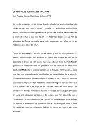 Artículo en la revista El Médico de Luis Aguilera, en relación con el ...