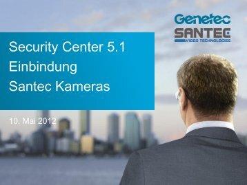Suche der Kameras - SANTEC Video