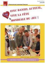 Daniel Auteuil parrain de la Fête Mondiale du Jeu 2010 - ALF ...