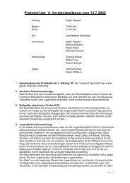 Protokoll 04 / 2005