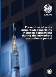 Prevention of acute drug-related mortality in prison populations ...