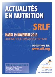 Télécharger le programme - SRLF