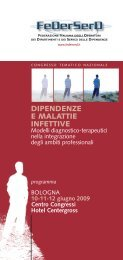 DIPENDENZE E MALATTIE INFETTIVE - CesDop