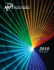 2010 - American Association of Physics Teachers