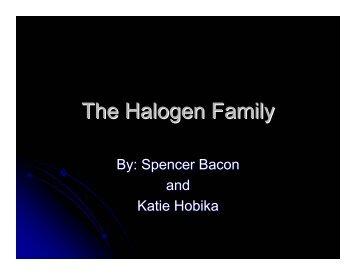 The Halogen Family - Nichols School