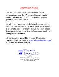 W4-1770 - Wisconsin Motors
