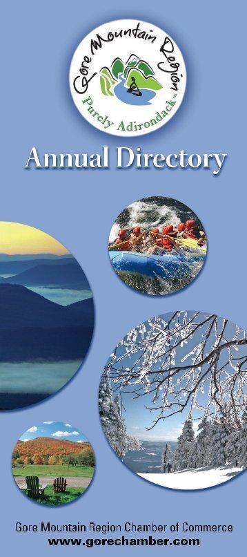 Gore Mountain Region Chamber Directory - Adirondack.net - The ...