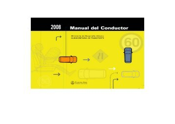 Manual del Conductor - Buenos Aires Ciudad