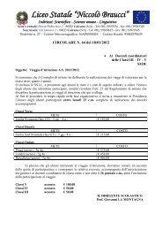 Circolare n. 64: Viaggio d'istruzione A.S. 2011/2012 - Liceocaivano ...