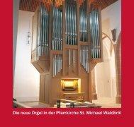 Orgel-Festschrift - Pfarrgemeinde St.Michael, Waldbröl