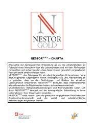 Charta von Leiner - Nestor Gold