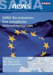 SARIA Bio-Industries: Eine europäische Unternehmensgruppe