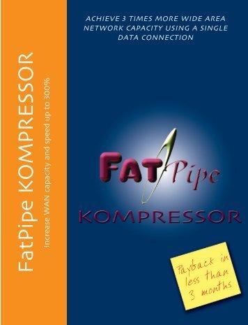 Kompressor - Ethernet compression data sheet (pdf)