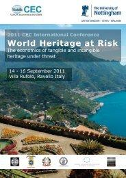 World Heritage at Risk