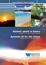 Solar - Watts Industries