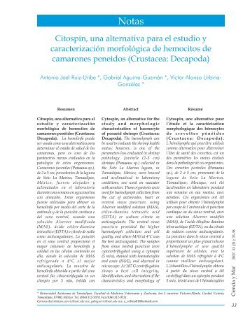 Citospin, una alternativa para el estudio - Universidad del Mar