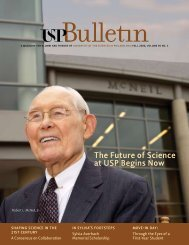 The Future of Science at USP Begins Now - University of the ...