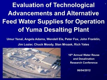 Evaluation of Technological Advancements and Alternative Feed ...