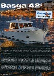 Fotografía de página  completa - Logo de Sasga Yachts