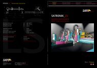 SATRONIK_LS - Sato Cutting Systems