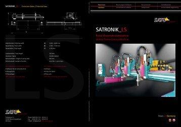SATRONIK_LS - Sato Cutting Systems
