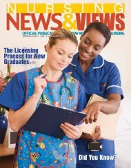 Newsletter Spring 2010 - the New Mexico Board of Nursing