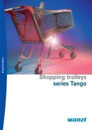 Shopping trolleys series Tango - Wanzl