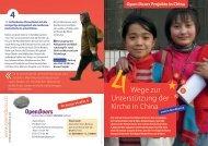 4 Wege zur Unterstützung der Kirche in China und Nordkorea