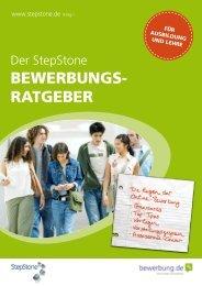 BEWERBUNGS- RATGEBER