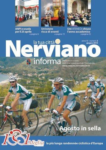 Anno IV - Numero 2 Giugno 2010 - Comune di Nerviano