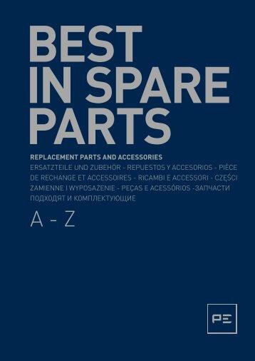 replacement parts and accessories ersatzteile und ... - OLMOSDON