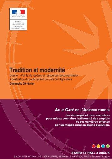 Le guide Tradition et Modernité - Mission d'animation des ...