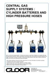 CENTRAL GAS SUPPLY SYSTEMS : CYLINDER BATTERIES AND ...