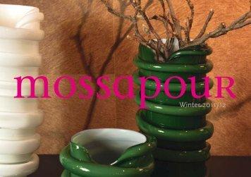 Katalog 2011/2012 - Mossapour - Online Shop