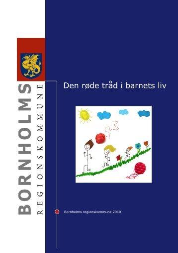 Den røde tråd i barnets liv - Bornholms Regionskommune