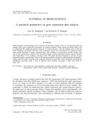Bioinfosummer2010 GWAS tutorial - WEHI Bioinformatics