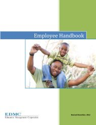 EDMC Employee Handbook - Education Management Corporation