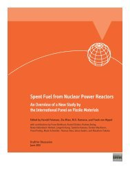 Spent Fuel From Nuclear Power Reactors - International Panel on ...