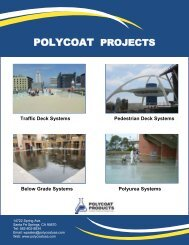 Polycoat Projects Catalog (Low Res) - Polycoat Products
