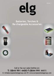 Batteries & Accessories - European Lamp Group