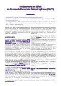 Médicaments et déficit en Glucose-6-Phosphate Déshydrogénase ... - Page 2