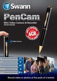 Mini Video Camera & Recorder