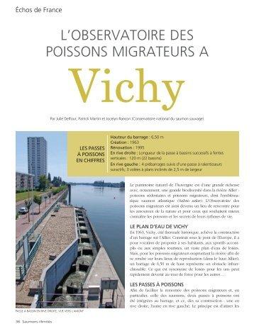 L'observatoire des poissons migrateurs de Vichy - Conservatoire ...