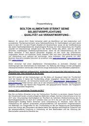 """BOLTON ALIMENTARI STÃ""""RKT SEINE ... - Saupiquet"""